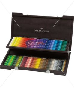 Faber Castell Polychromos Artists Colour Pencil Wood Case 120 Shades by StatMo.in
