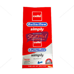 Cello Butterflow Simply Ball Point Pen With Refill by StatMo.in