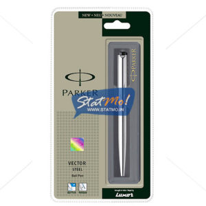 Parker Vector Stainless Steel CT Ball Pen by StatMo.in