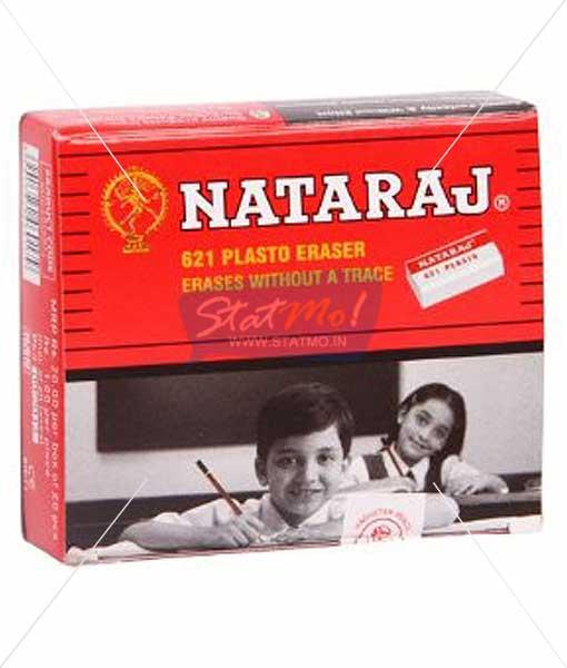 Nataraj 621 Plasto Eraser by StatMo.in