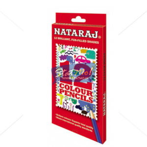 Nataraj Colour Pencils 12 Full Size by StatMo.in