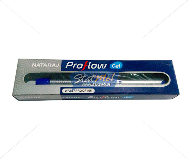 Nataraj Proflow Gel Pens by StatMo.in