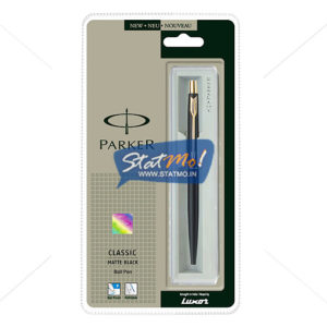 Parker Classic Matte Black GT Ball Pen by StatMo.in