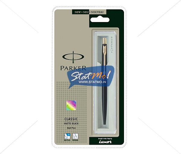 Parker Classic Matte Black GT Ball Pen by StatMo.in