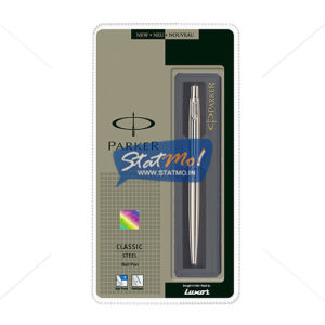 Parker Classic Stainless Steel CT Ball Pen by StatMo.in