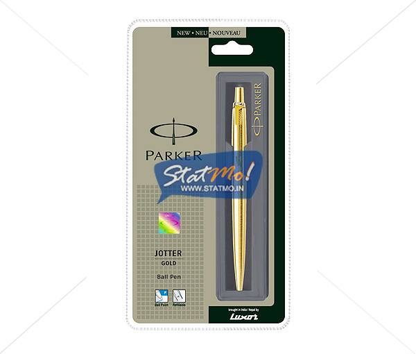 Parker Jotter Gold GT Ball Pen by StatMo.in