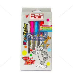 Flair Neon Poster Gel Colour Set of 5 by StatMo.in