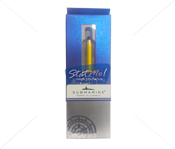 Submarine Cris Gold Ball Pen by StatMo.in