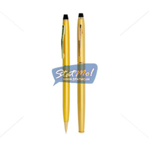 Submarine Cris Gold Ball and Roller Pen Set by StatMo.in