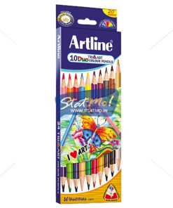 Artline Duo Art Colour Pencil Set of 10 by StatMo.in