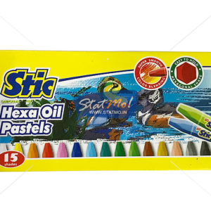Stic Colorstix Hexa Oil Pastels 12 Color Set by StatMo.in