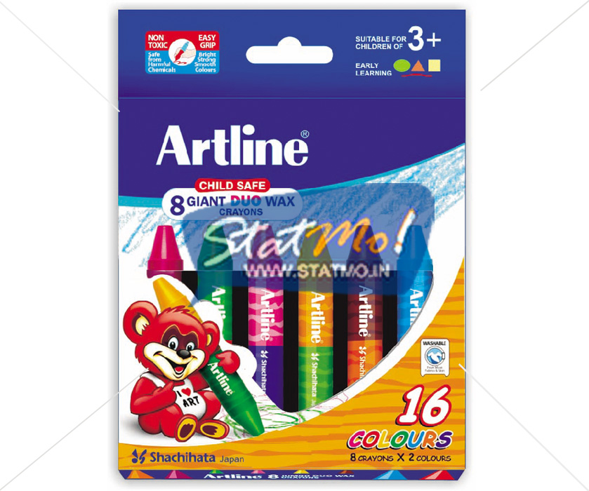 Artline Giant Dou Wax Crayon by StatMo.in