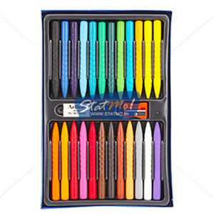 Artline 24 Gripper Plastic Crayons by StatMo.in