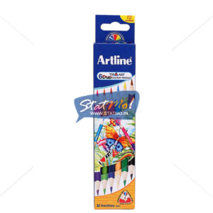Artline Duo Art Colour Pencil by StatMo.in