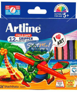 Artline Gripper Plastic Crayons by StatMo.in