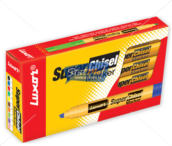 Luxor Super Chisel Marker by StatMo.in