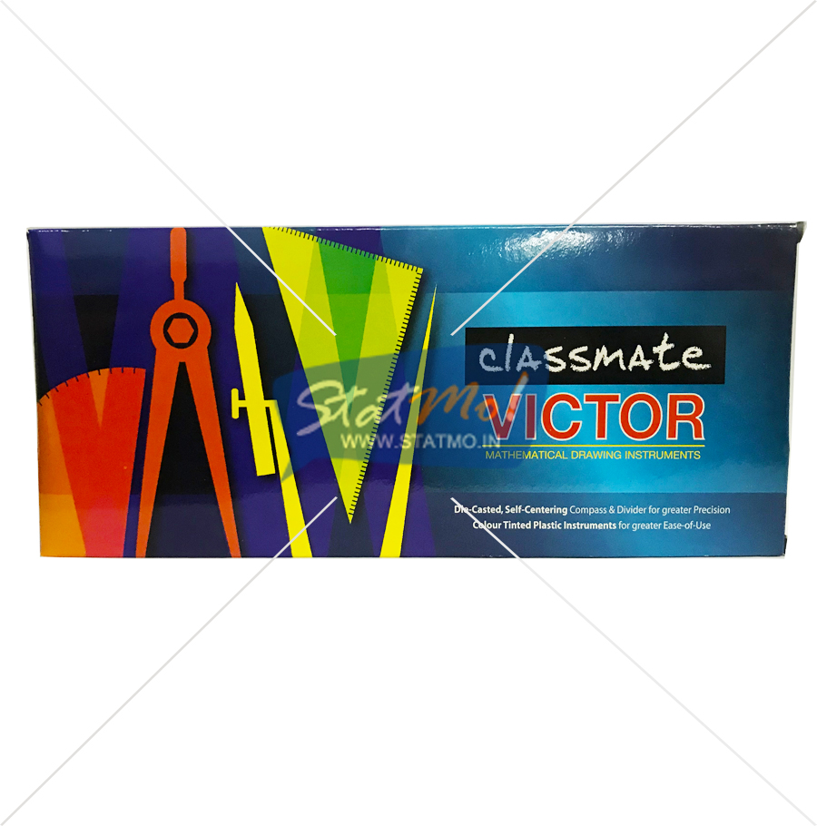 Classmate Victor Mathematical Drawing Instruments Box by StatMo.in