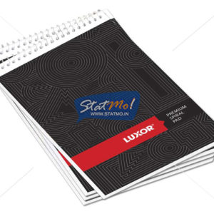 Luxor Premium Spiral Pad Notebook by StatMo.in