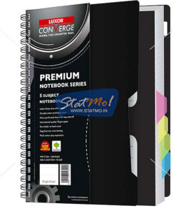 Luxor A5- 5 Subject Notebook by StatMo.in