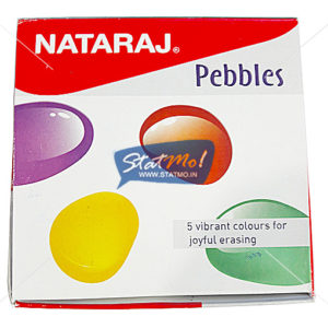 Nataraj Pebbles Eraser by StatMo.in