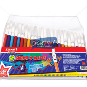 Luxor Sketch O Matic 24 Water Color Pens Assorted Colours by StatMo.in