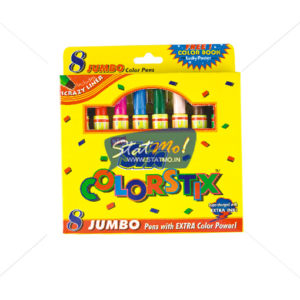 Stic Colorstix Jumbo Color Pens 8 Color Set by StatMo.in