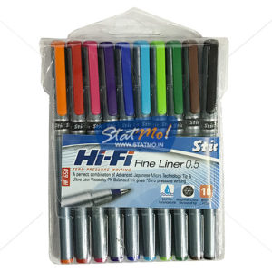 Stic Hi-Fi Fine Liner Regular 10 Color Set by StatMo.in