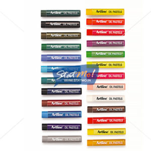 Artline Oil Pastels 25 Shades by StatMo.in