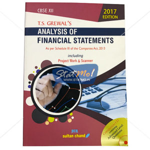 T.S. Grewal's Analysis of Financial Statements 2017 Edition Class 12th by StatMo.in