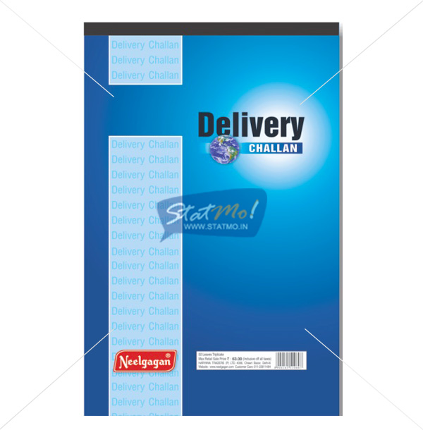 Neelgagan Delivery Challan Book by StatMo.in