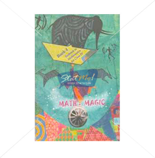 NCERT Math Magic Book for Class IVth by StatMo.in