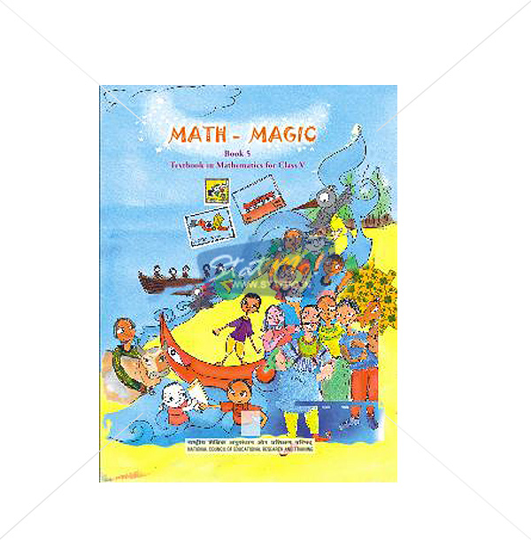 NCERT Math Magic Book for Class Vth by StatMo.in
