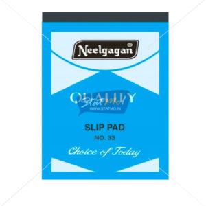 Neelgagan Slip Pad No.33 by StatMo.in