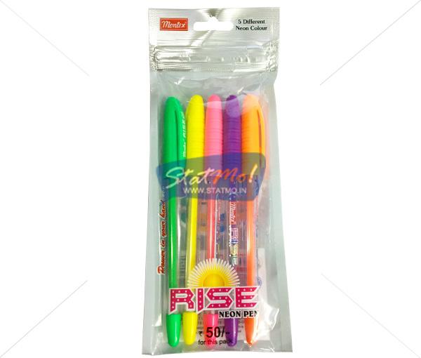 Montex Rise Neon Gel Pen by StatMo.in