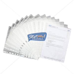 Solo Sheet Protectors - 11 Hole by StatMo.in
