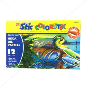 Stic Colorstix Hexa Oil Pastels 12 Shades by StatMo.in