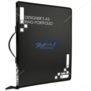 Solo Designers A3 Ring Portfolio by StatMo.in