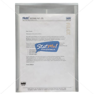 Solo Document Envelope by StatMo.in