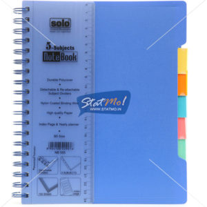 Solo 5 Subjects B5 Executive Notebooks by StatMo.in