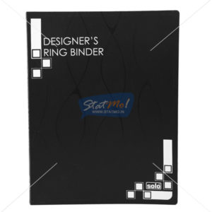 Solo Designers Ring Binder 4D-Ring by StatMo.in