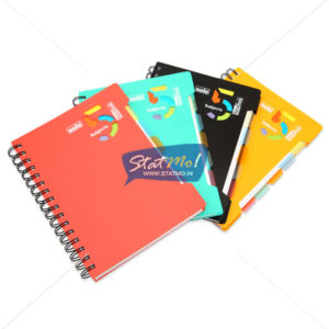 Solo 5 Subjects Executive Notebook B5 by StatMo.in