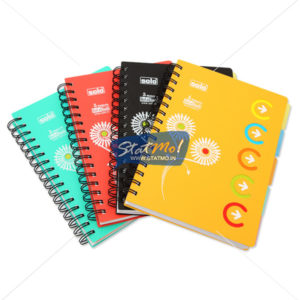 Solo 5-Subjects Notebook by StatMo.in