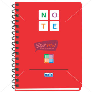 Solo Executive Notebooks A5 by StatMo.in