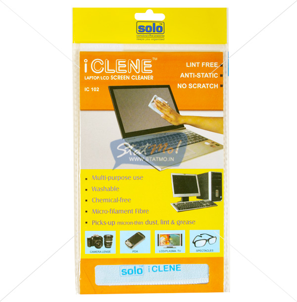 Solo Laptop LCD Screen Cleaner Fabric by StatMo.in