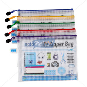 Solo My Zipper Clouser Bag A5 by StatMo.in