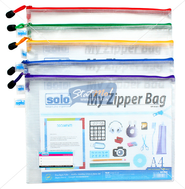 Solo My Zipper Clouser Bag A4 by StatMo.in