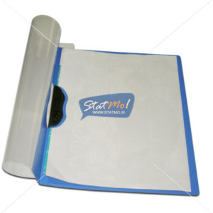 Solo Report Cover File A4 Swing Clip Transparent Top by StatMo.in