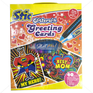 Stic Glitterstix Greeting Cards Masks Art Set by StatMo.in