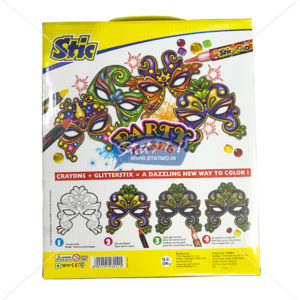 Stic Glitterstix Party Masks Art Set by StatMo.in