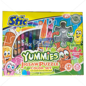 Stic Yummies Jigsaw Puzzle Color Set by StatMo.in